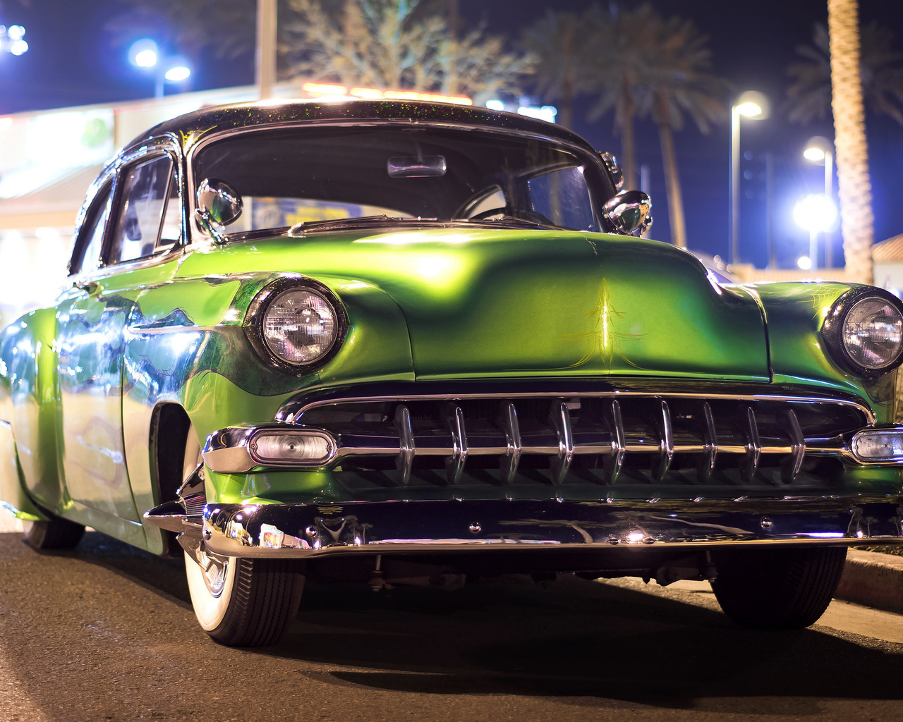 american, classic, car, chevrolet