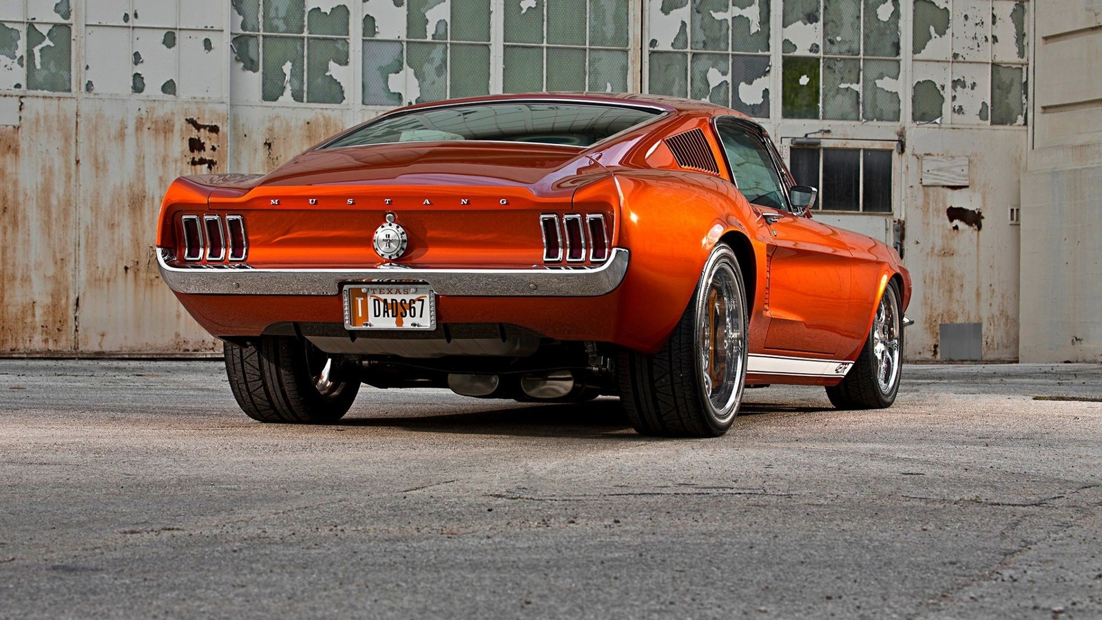 ford, mustang, fastback
