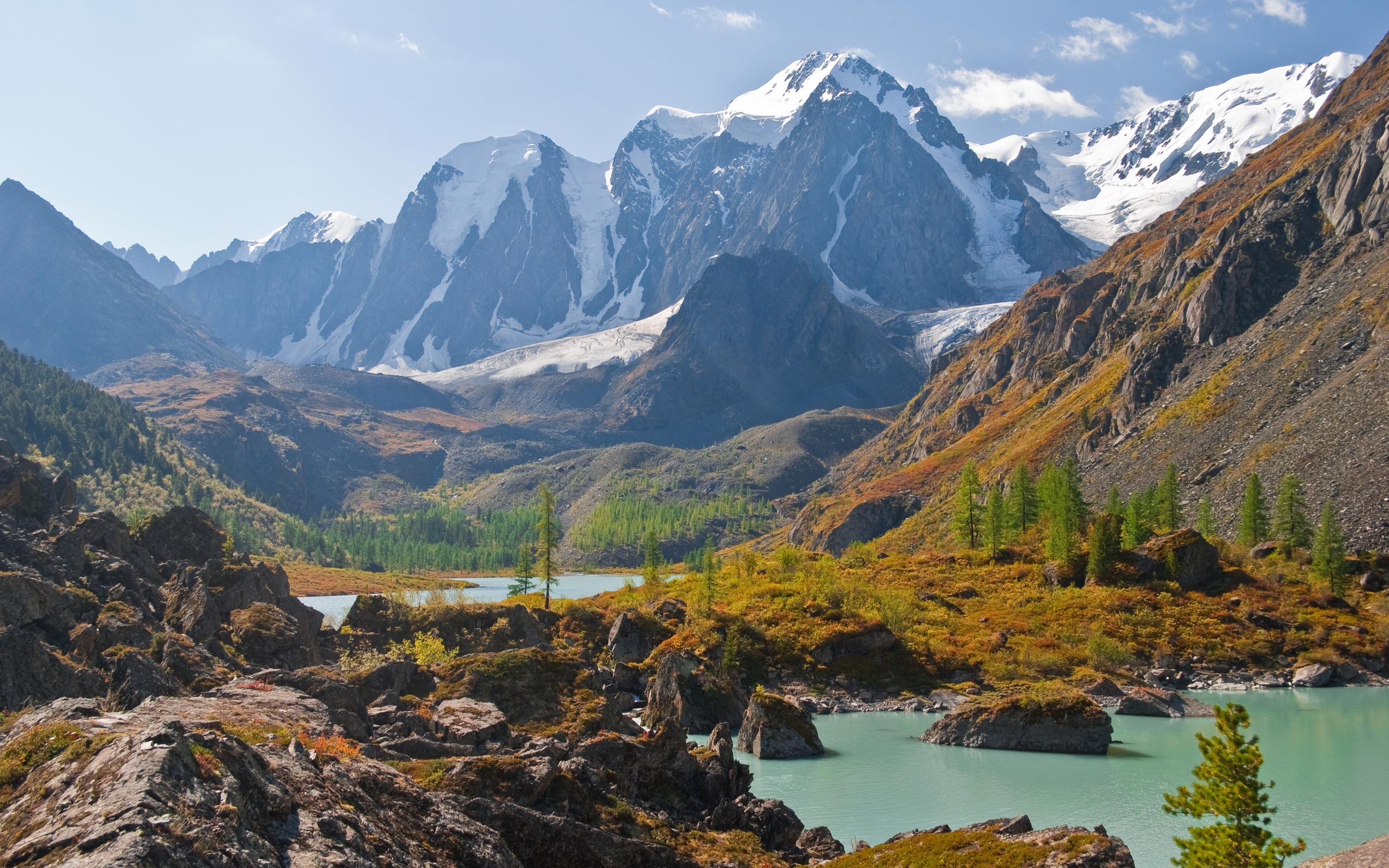 горы, озеро, north-chuyskiy ridge, altai, природа