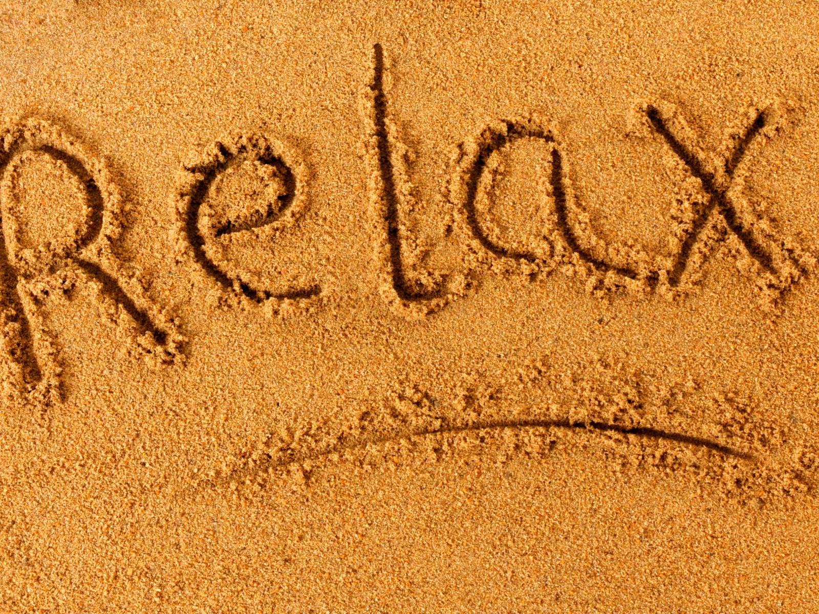 позитив, пляж, песок