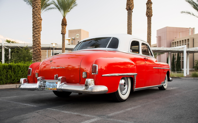 american, classic, car, chrysler, 1950