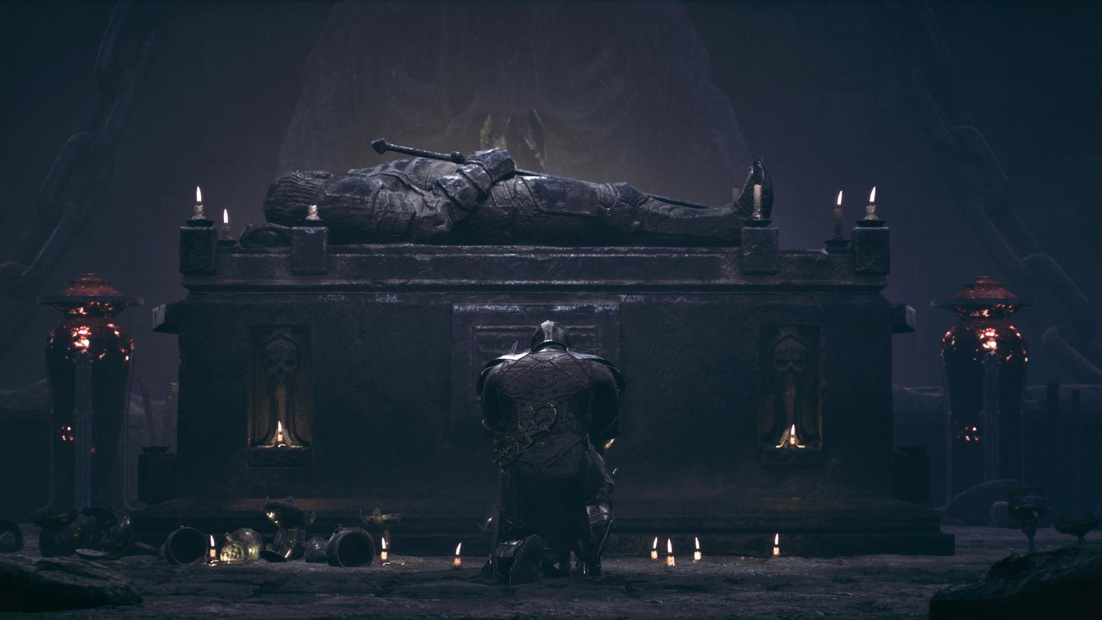 mortal shell, knights, tomb