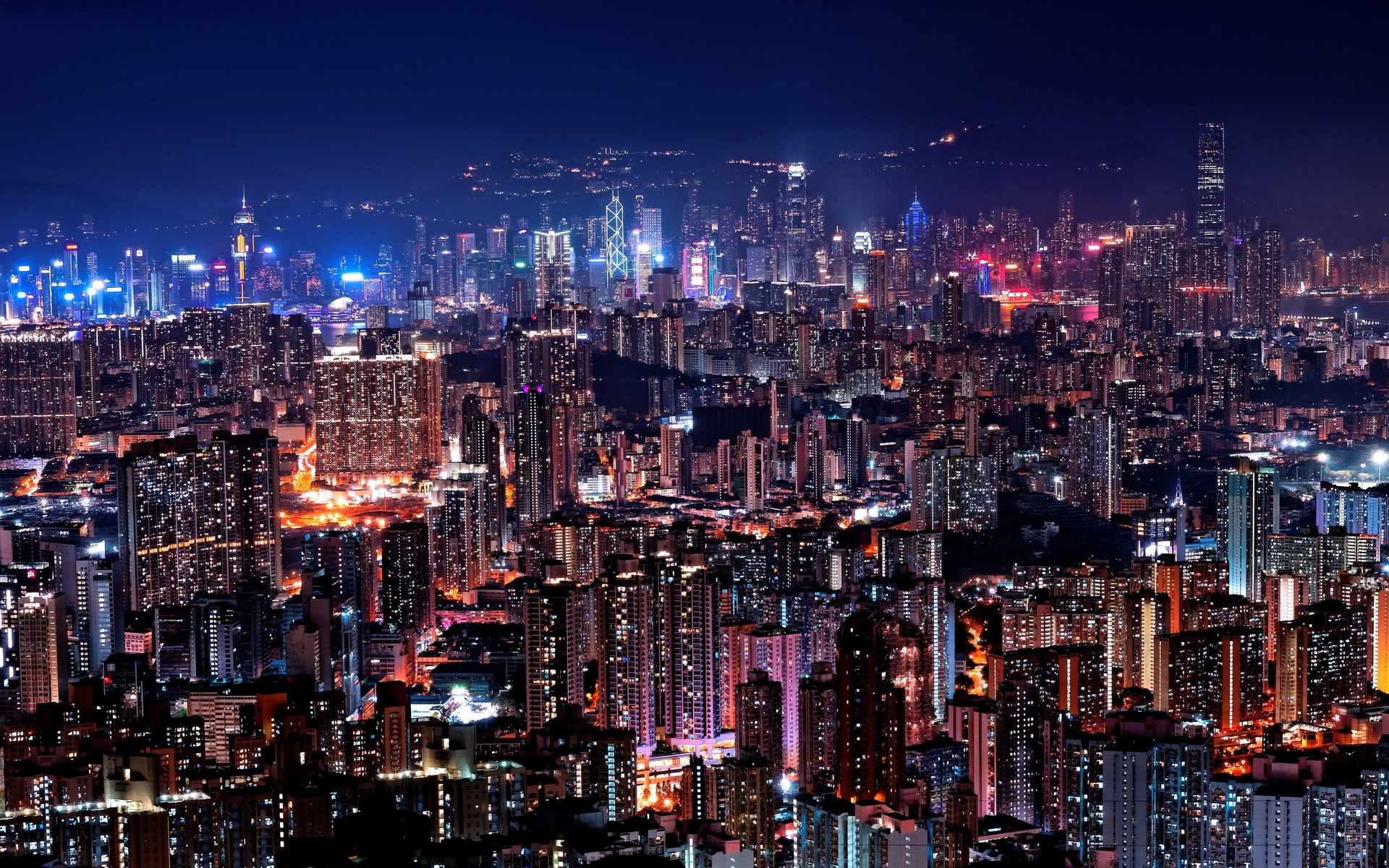 city, lights, china, colorful, night, glow, buildings, architecture, skyscrapers, asia, cityscape, night city, metropolis