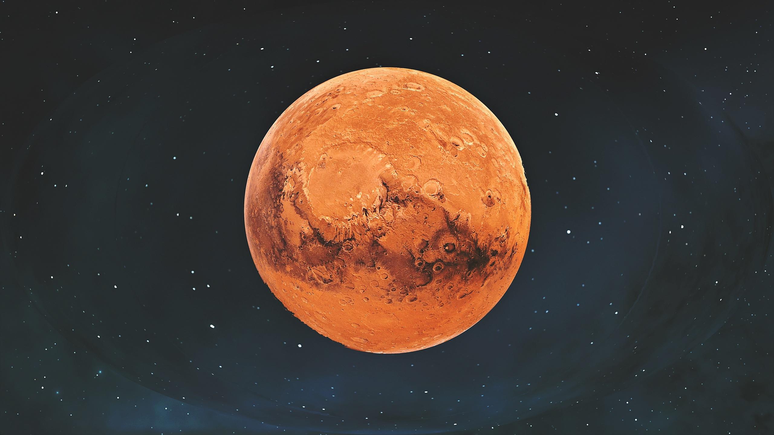марс, планета, фон