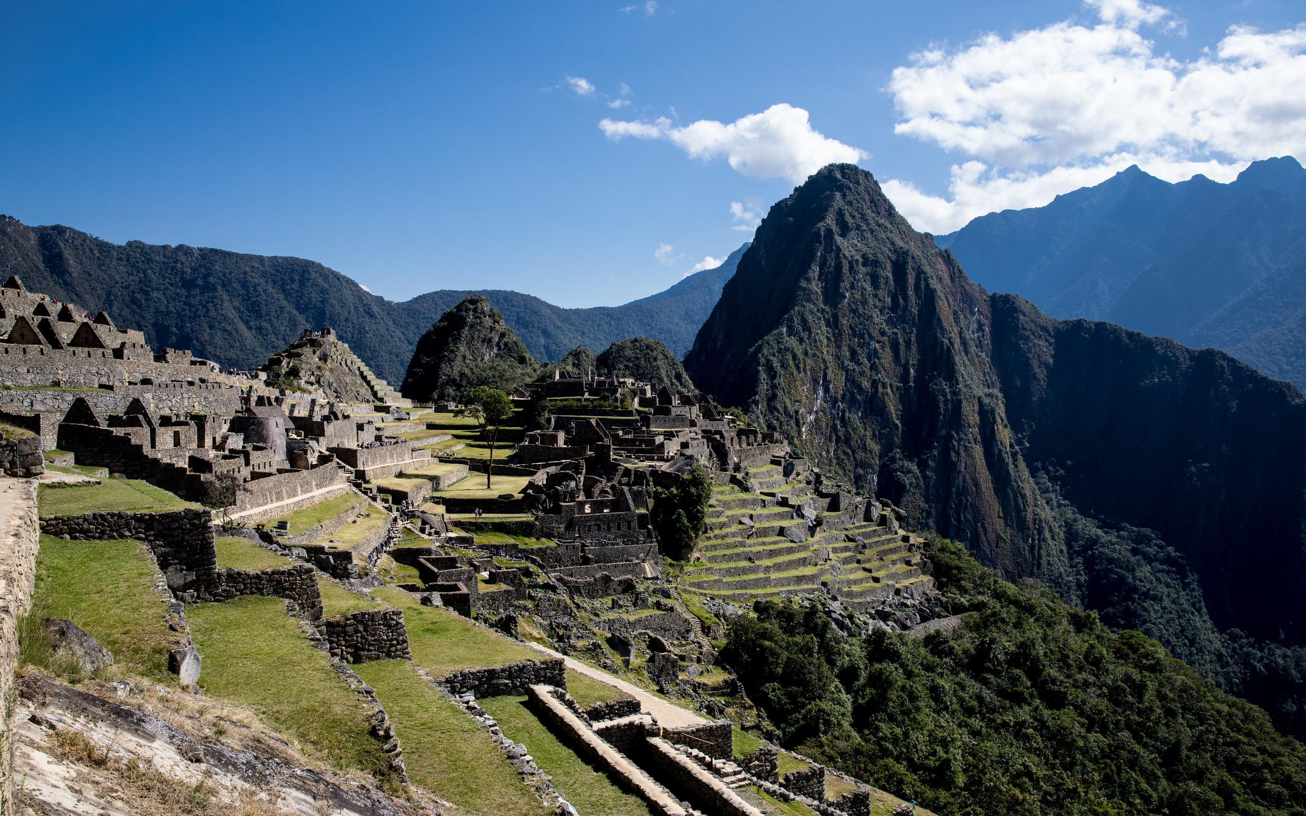 перу, горы, развалины, machu picchu, природа