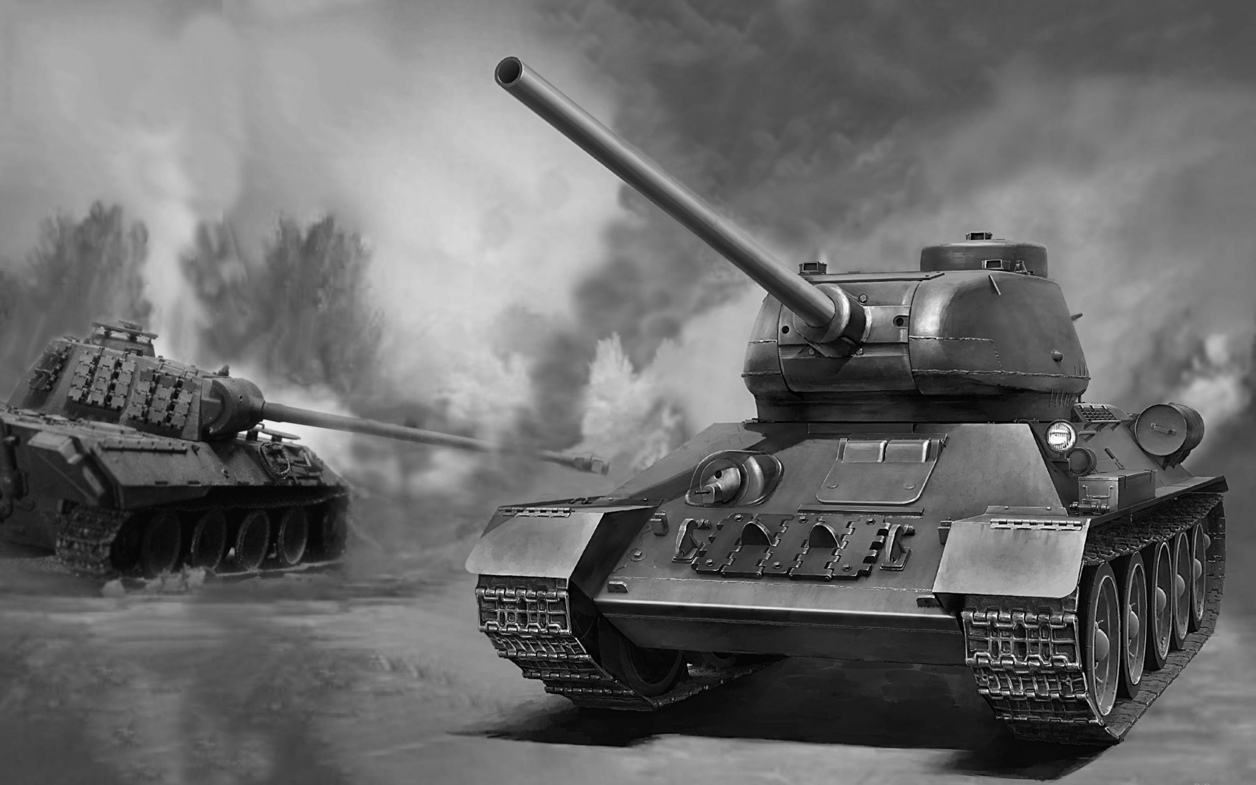 танки, пантера, тридцать четверка, война