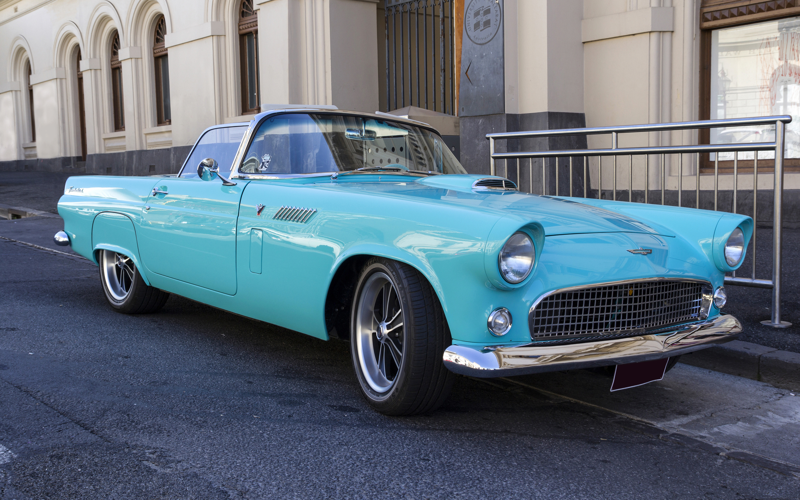 american, classic, car, ford.thunderbird