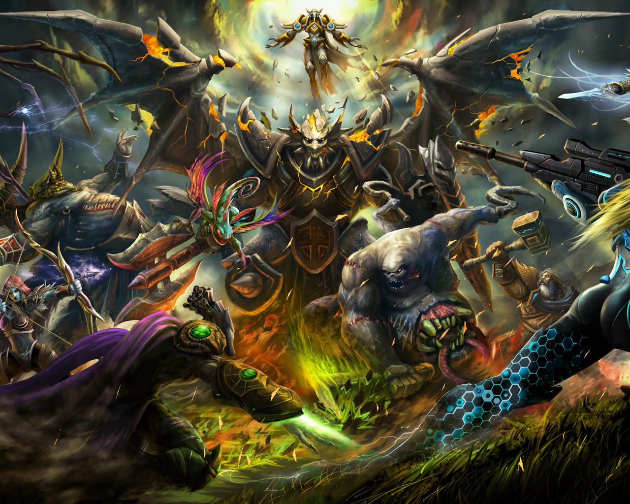 stitches, warcraft, azmodan, starcraft, heroes of the storm, zeratul