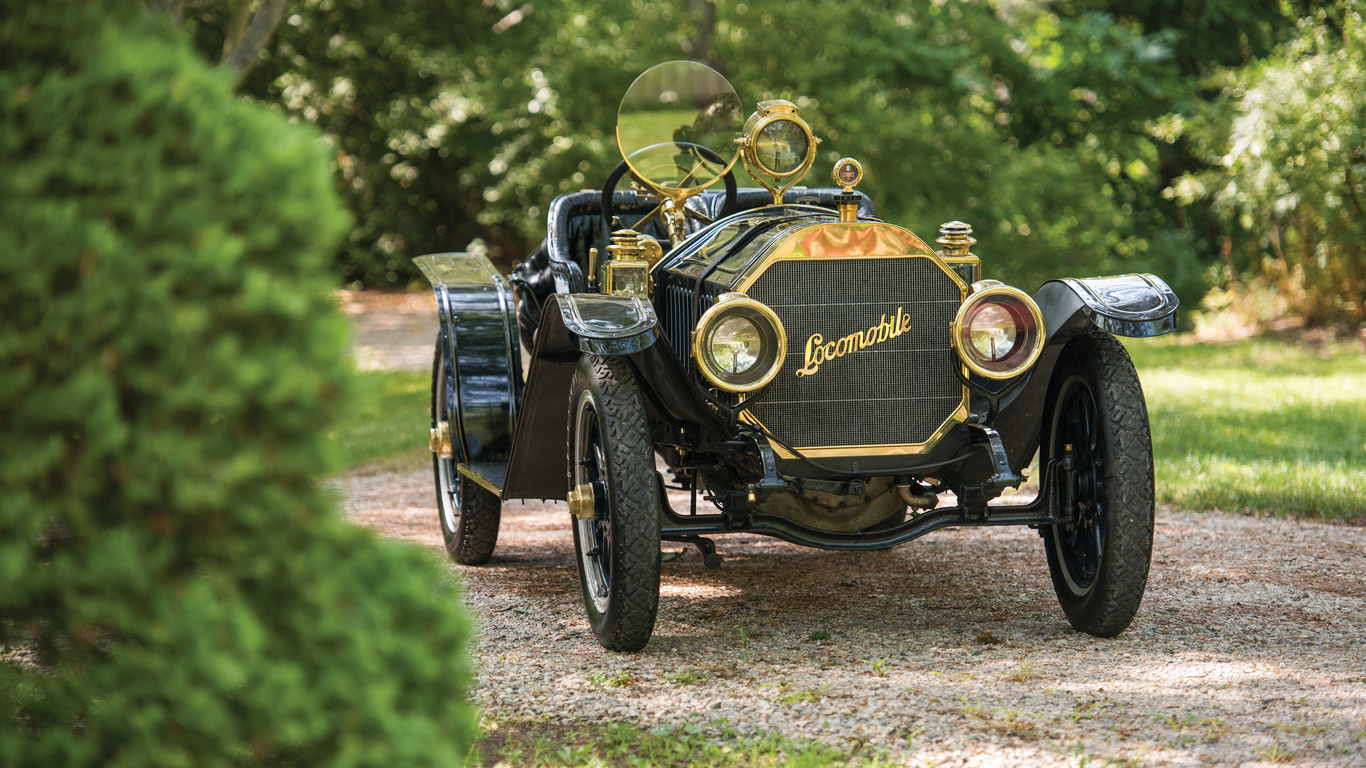 locomobile, model, 30-l, speedster, 4k, 1909, cars, retro