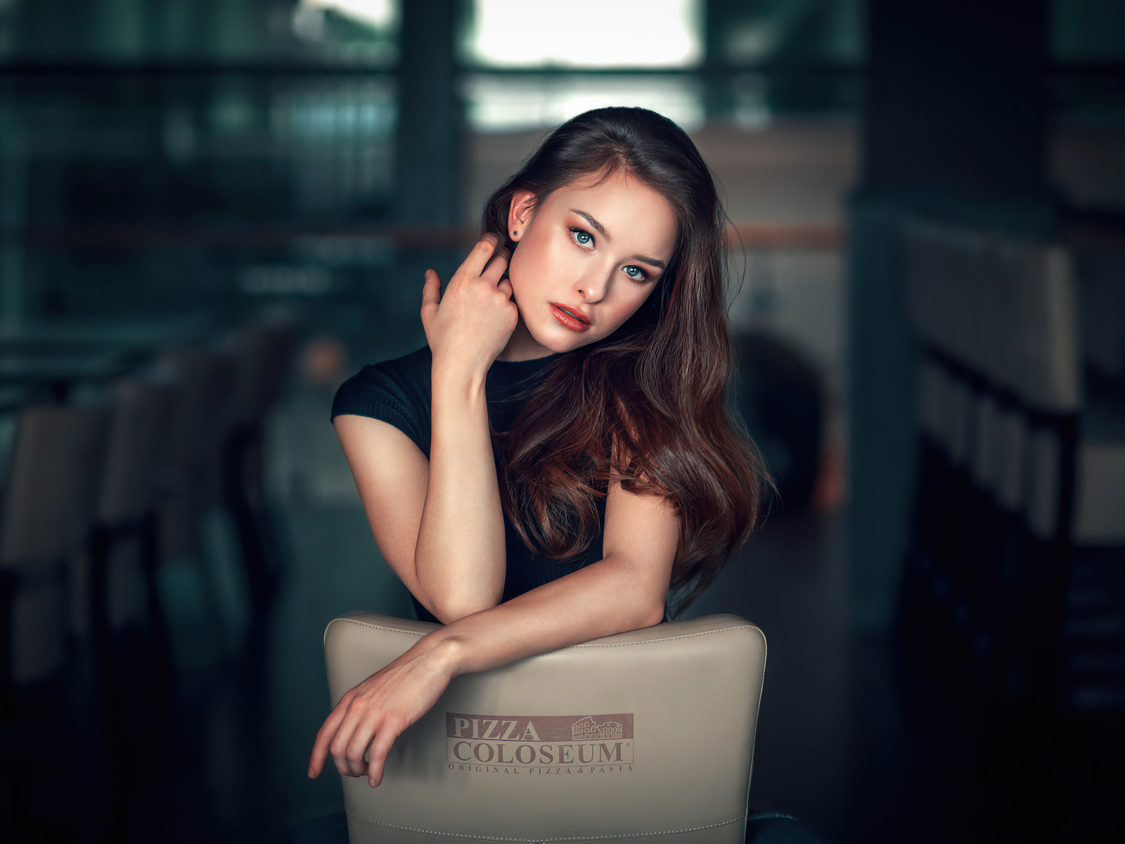 jiri tulach, девушка, портрет