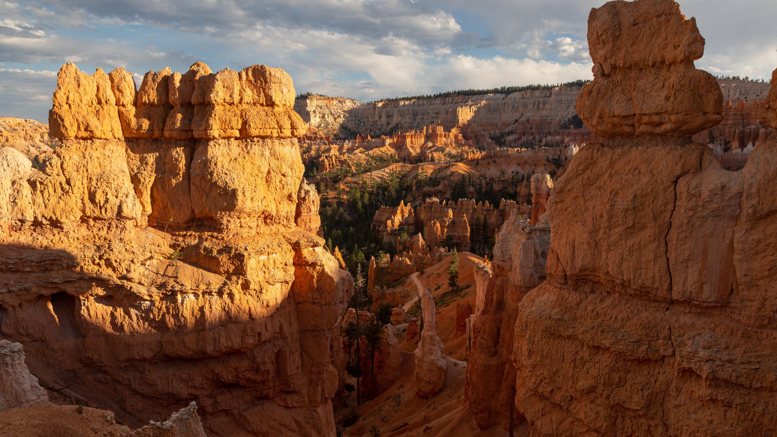 bryce, canyon, national park, каньон, скала, природа