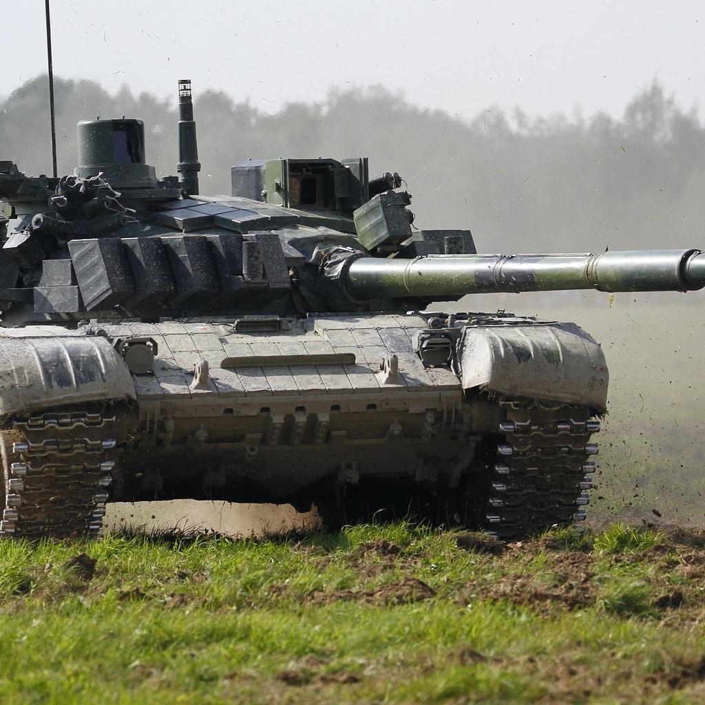 т-72, танк, полигон