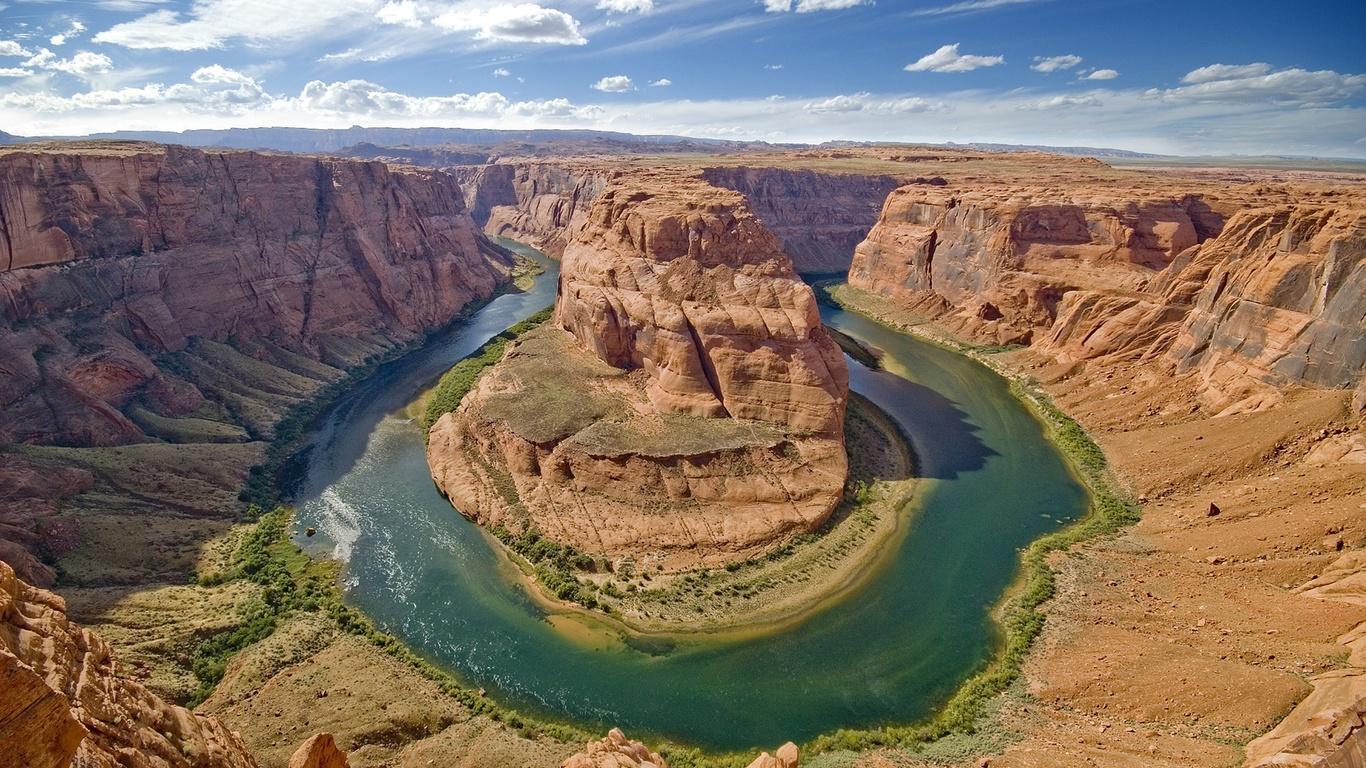 каньон, панорама