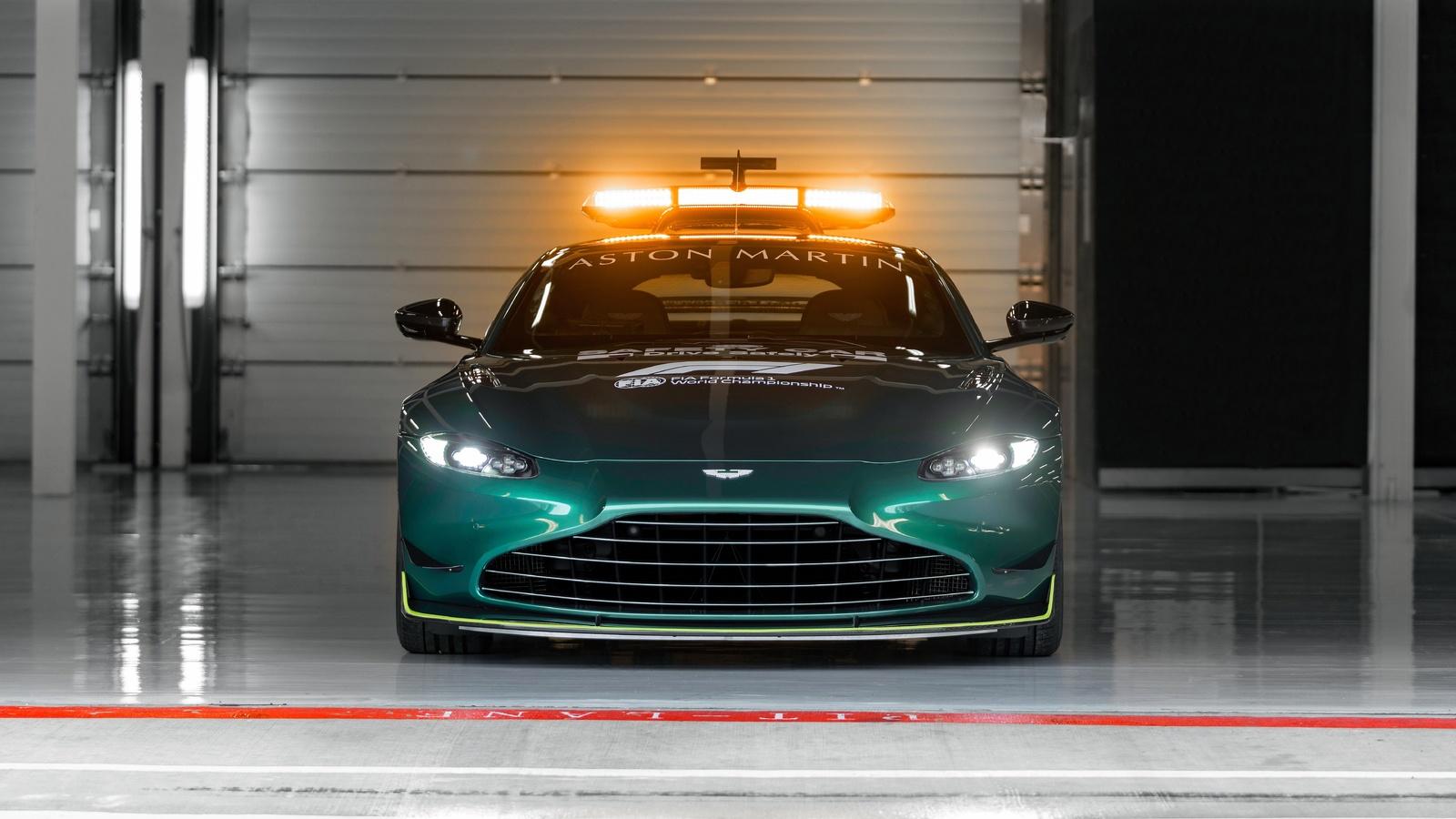 aston martin, vantage, f1, safety, car, 2021