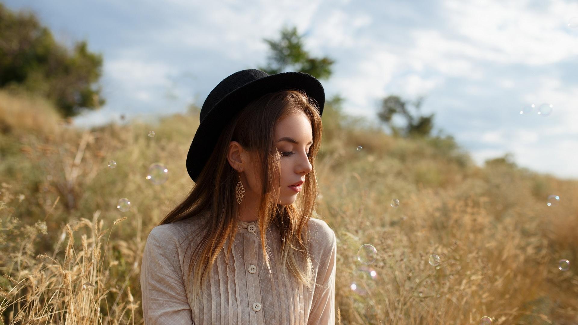 девушка, портрет, на природе, фото, anton papalutsa