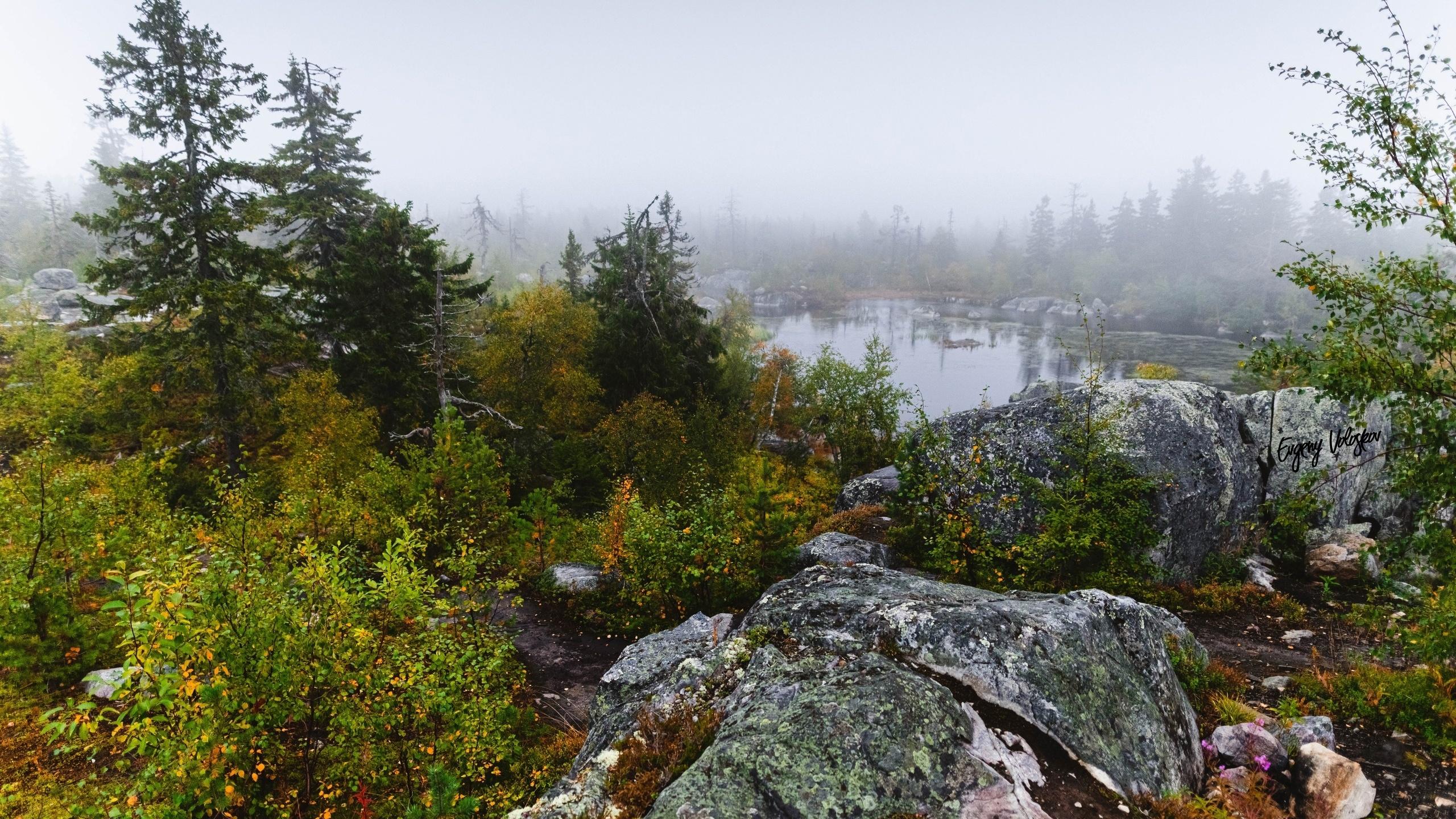 природа, карелия, камни, озеро