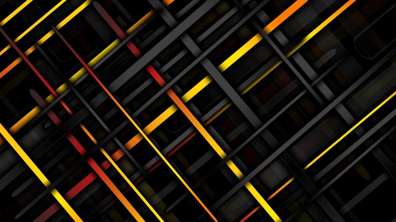 линии, текстуры, 4к