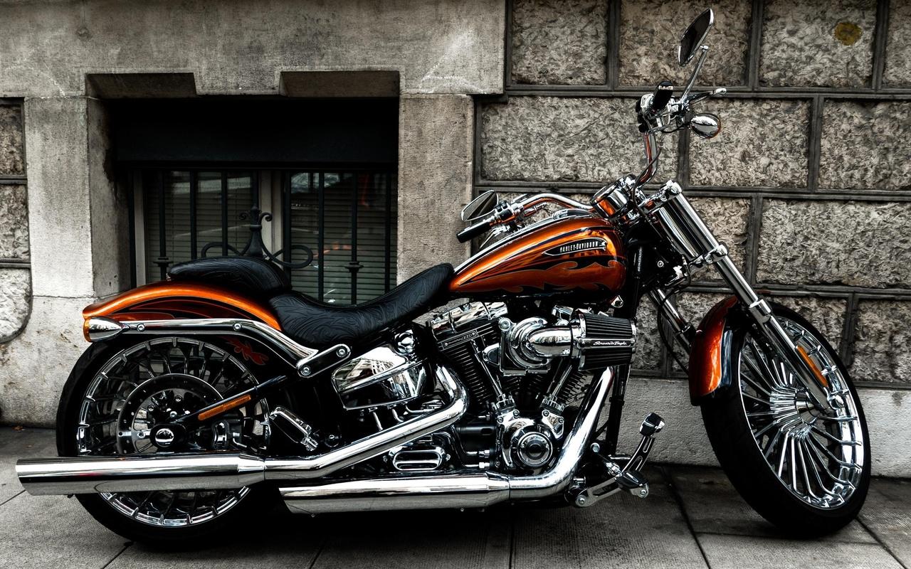 harley davidson, мотоцикл, байк