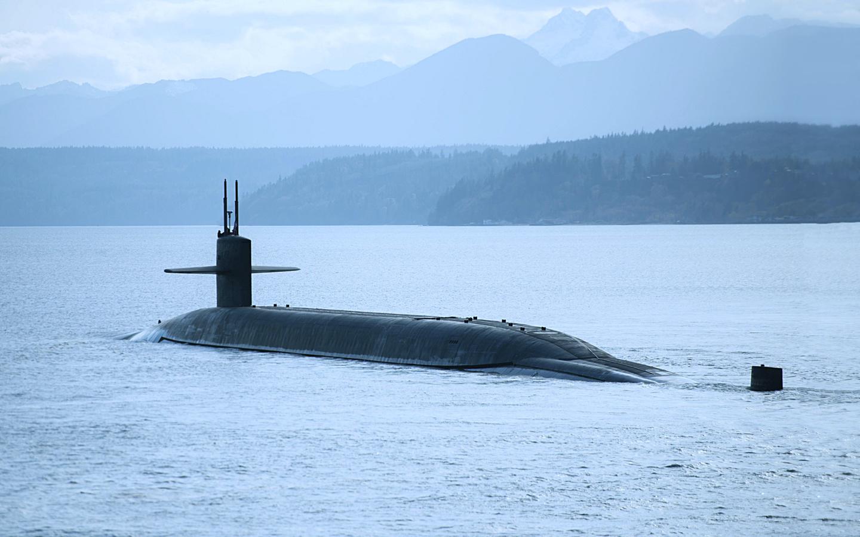 uss nebraska, атомная, подводная, лодка