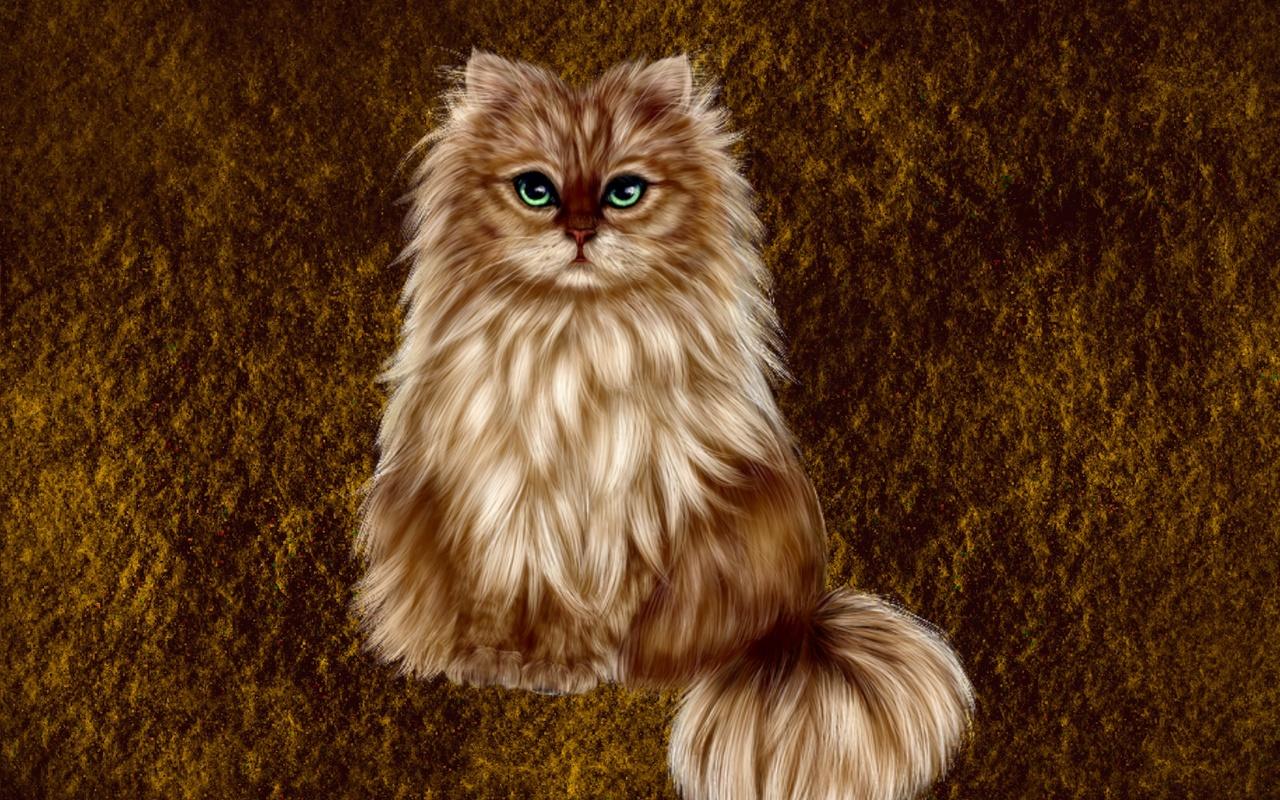 кошка, 3d, кошка,животное,пушистая,шерсть,мордочка,зелёные,глаза,лапки,ушки,арт