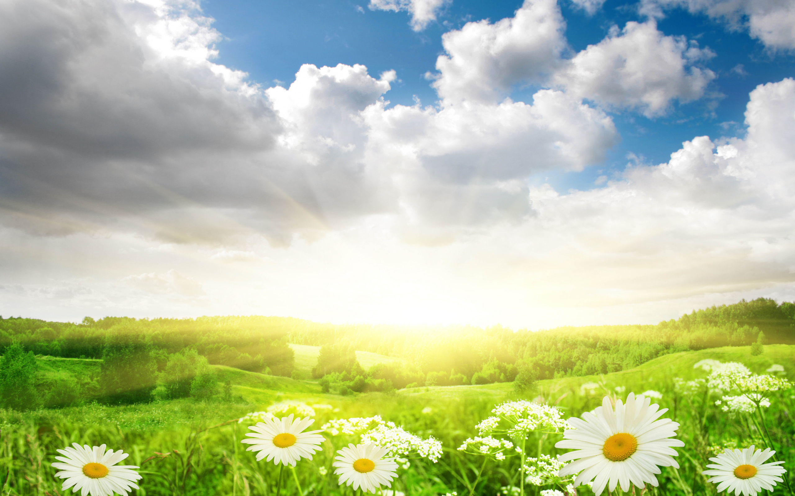 Облака солнце картинки