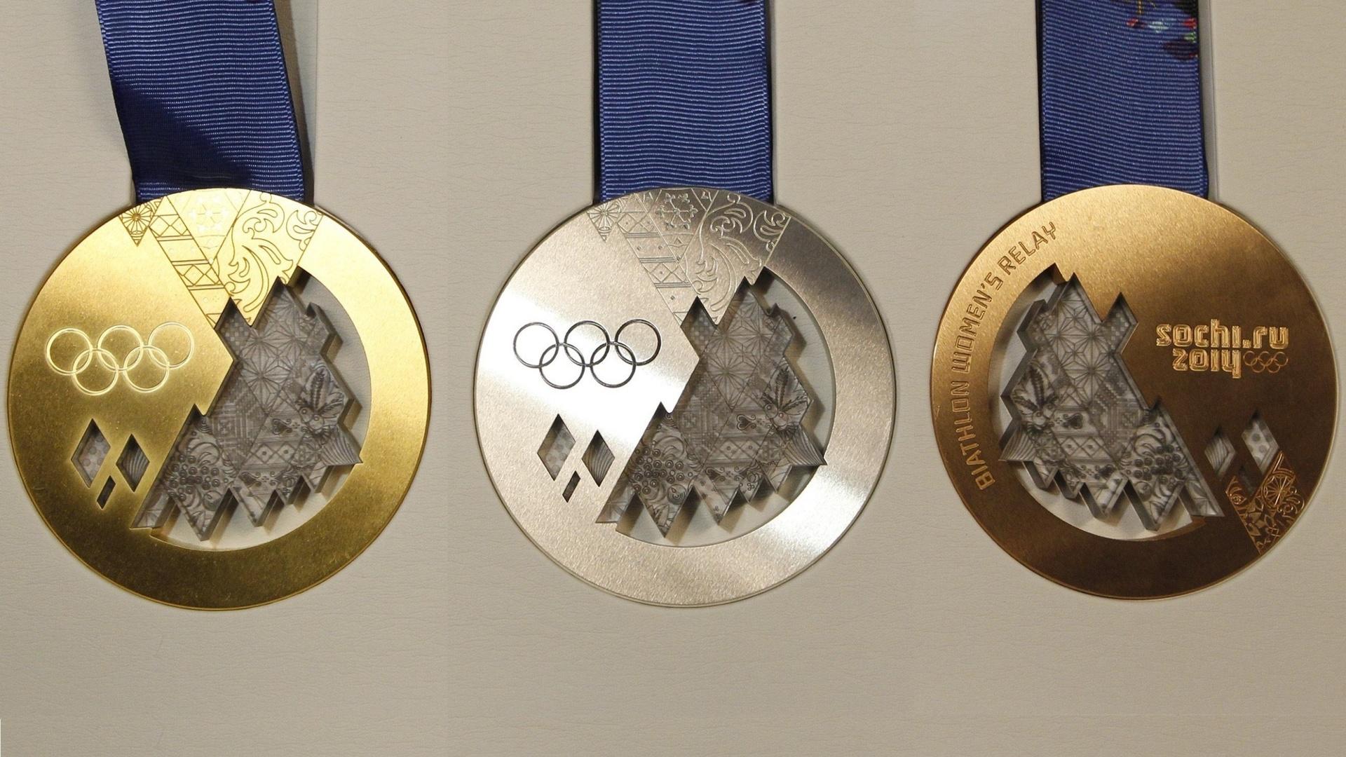 Олимпийские медали как сделаны