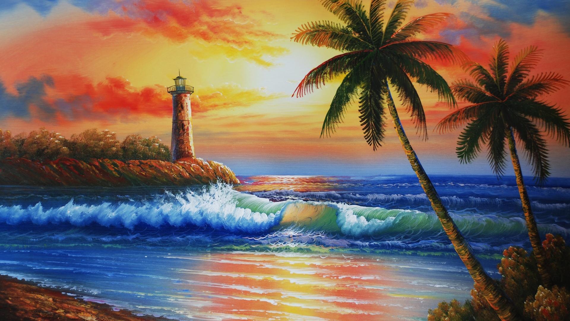 Картинки пляж море лето
