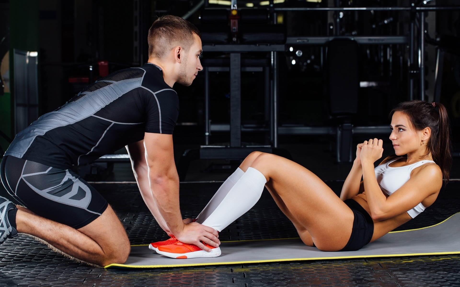 Девушки фитнес тренера фото