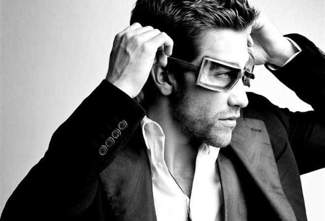 очки, мотогонщик, мужчина, красавиц