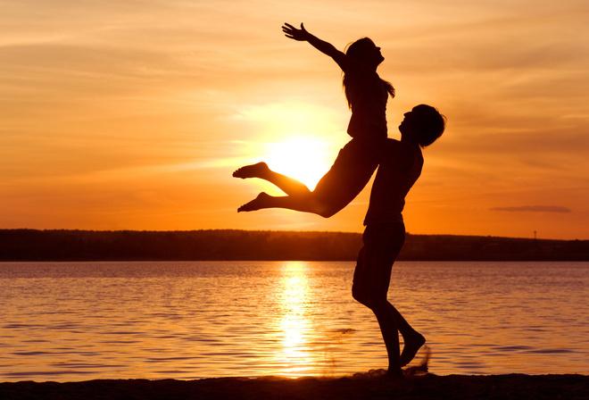 Love закат любовь свобода чувтсво
