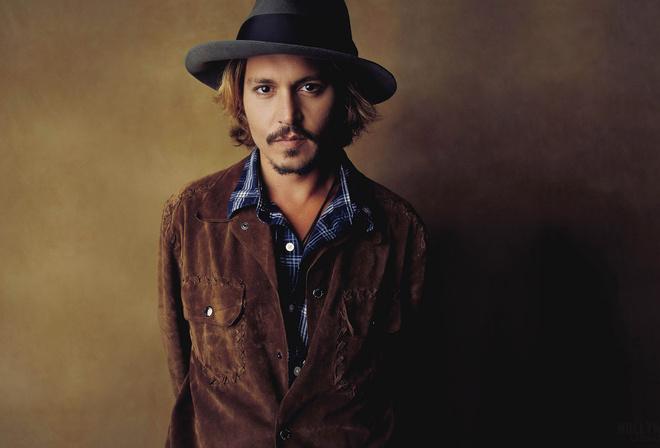 актер, Johnny depp, джонни депп, шляпа, взгляд