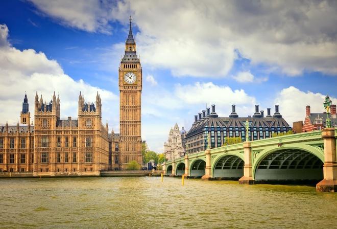 Бен лондон часовая башня london англия