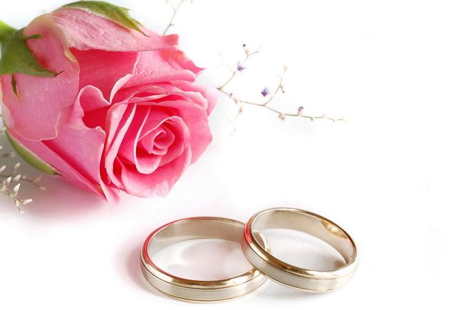 Свадьба роза кольца