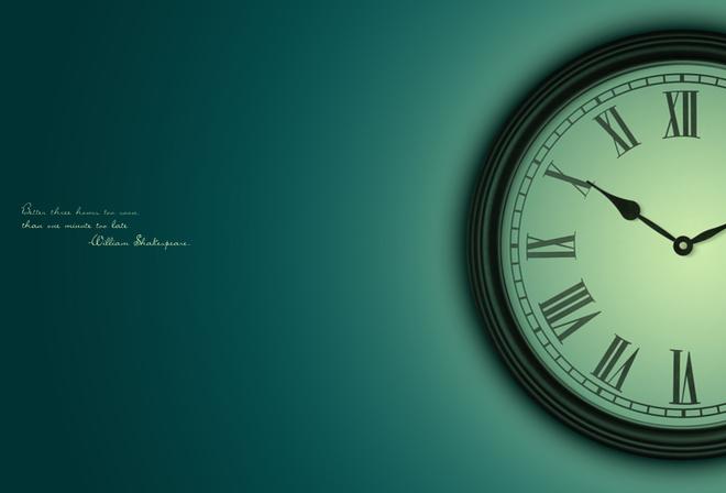 заставка на рабочий стол время часы № 190052 загрузить