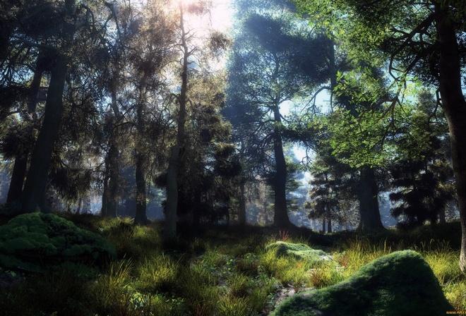 Картинки природы в 3д
