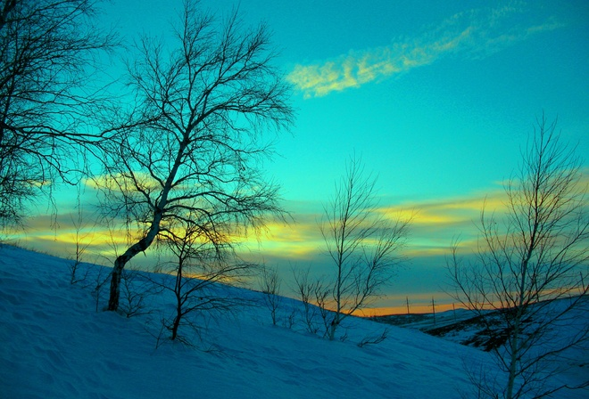Март снег зима холод мороз вечер