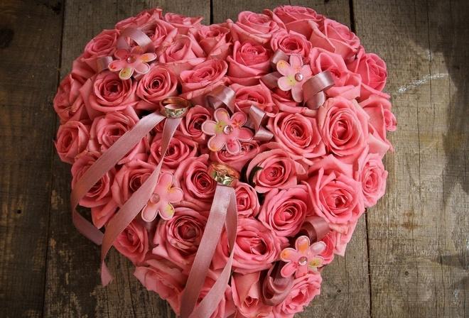 Красивые розовые розы цветы цветок