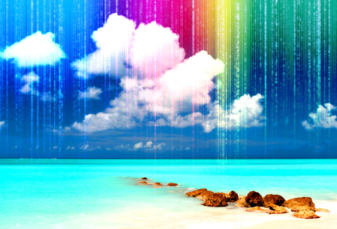 фотообои радуга: