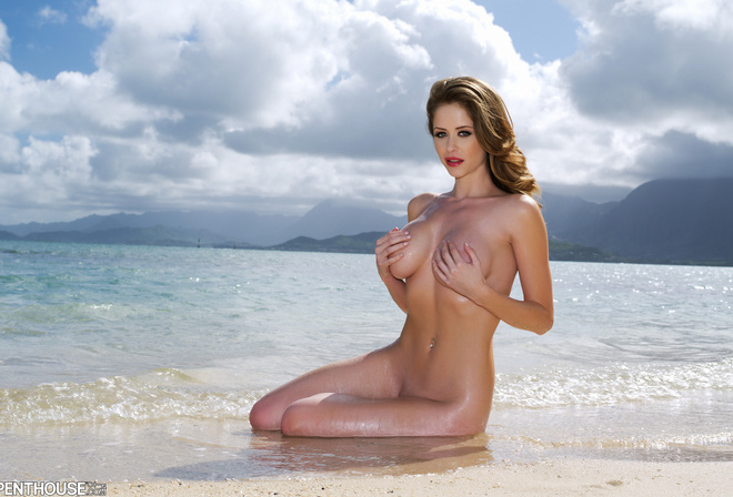 Female nude wallpaper
