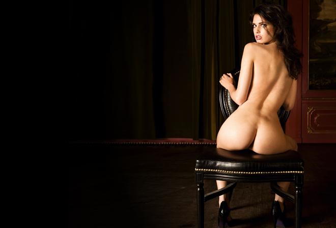Эротические фото спины девушки