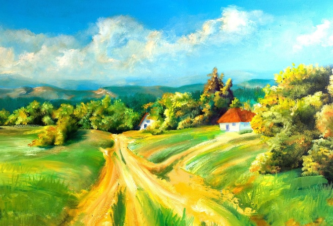 картинки село: www.nastol.com.ua/beautiful/104995-kartina-ukraina-zhivopis-priroda...