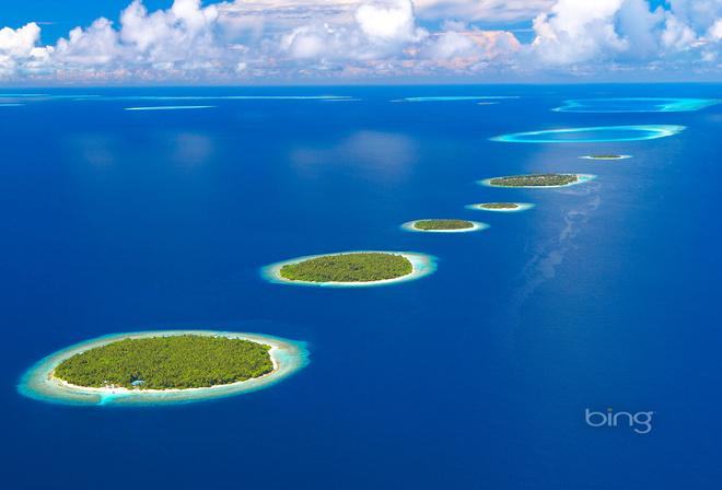 Обои отражение горы Небо красиво Лес Природа Вода
