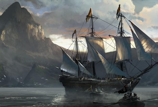 красивые корабли и море обои на рабочий стол