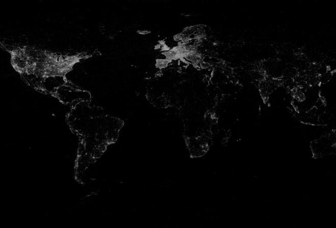 на стол обои карта мира на рабочий стол
