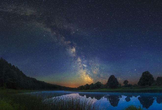 Млечный путь фото высокого качества