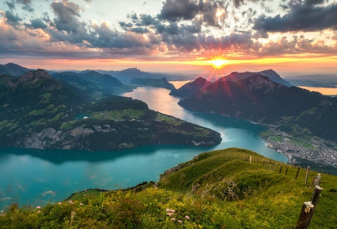 Картинки Альпы Природа
