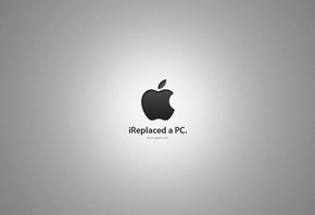 HD wallpaper wallpapers Ireplaced a pc, mac, apple, logo, digital, photo