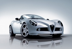 HD wallpaper Pictures Alfa Romeo, White, Auto, foto