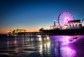 Usa, ���, santa monica, california, ����������, city, los angeles