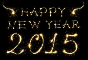 Happy, New Year, 2015, gold, ����� ���, ����������� ����